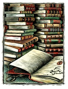 Stosik książek