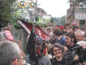 Podczas rozpoczęcia Triconu 2010