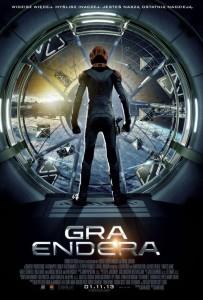 """Plakat filmu """"Gra Endera"""""""