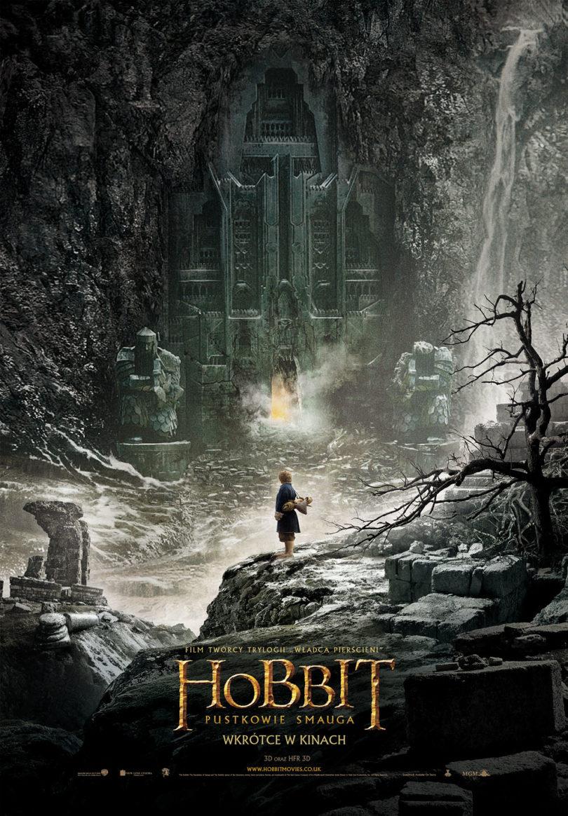 """""""Hobbit. Pustkowie Smauga"""" - plakat"""