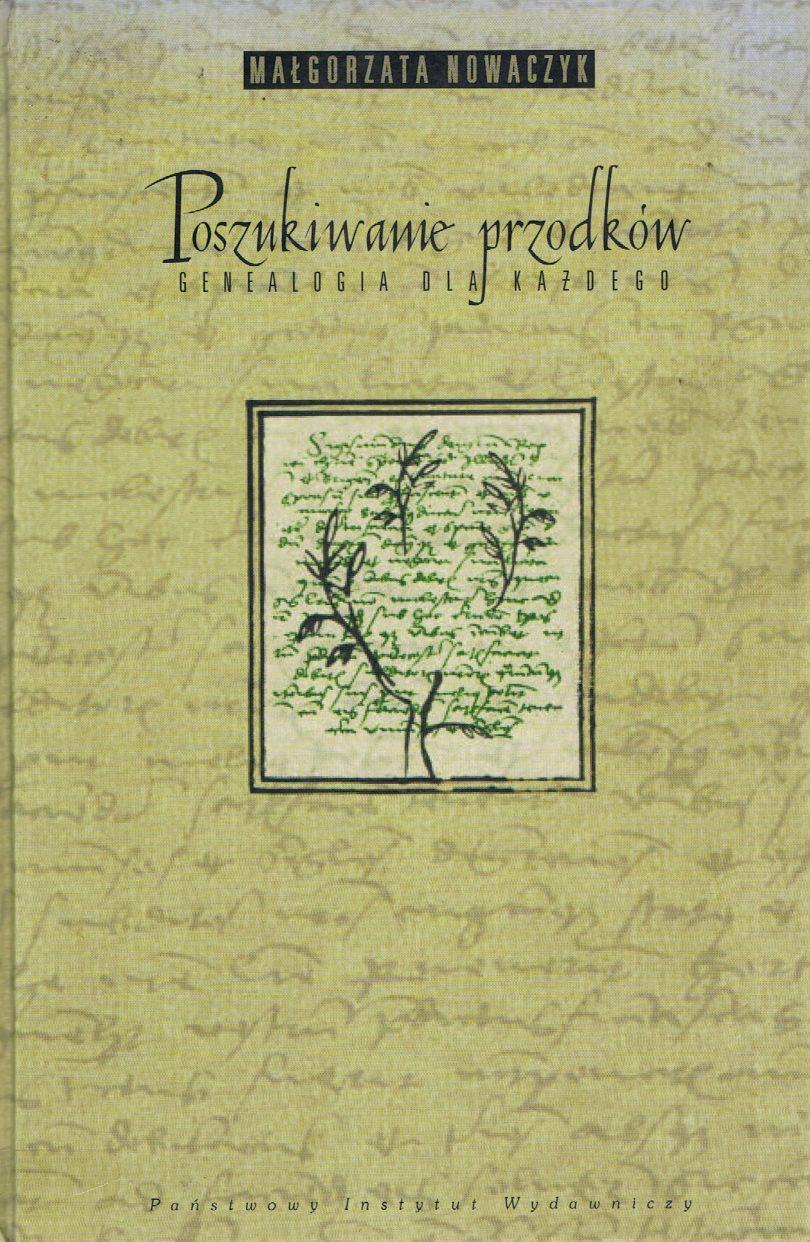 Małgorzata Nowaczyk, Poszukiwanie przodków