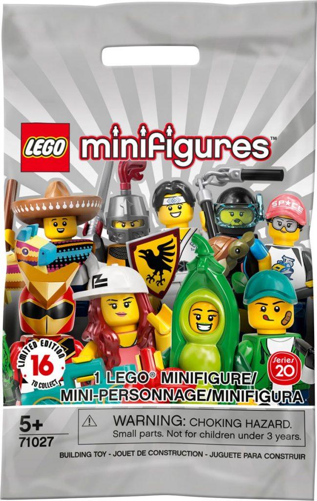 Lego Minifigures Series 20, source: lego.com
