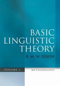 Dixon, Basic Linguistic Theory, okładka